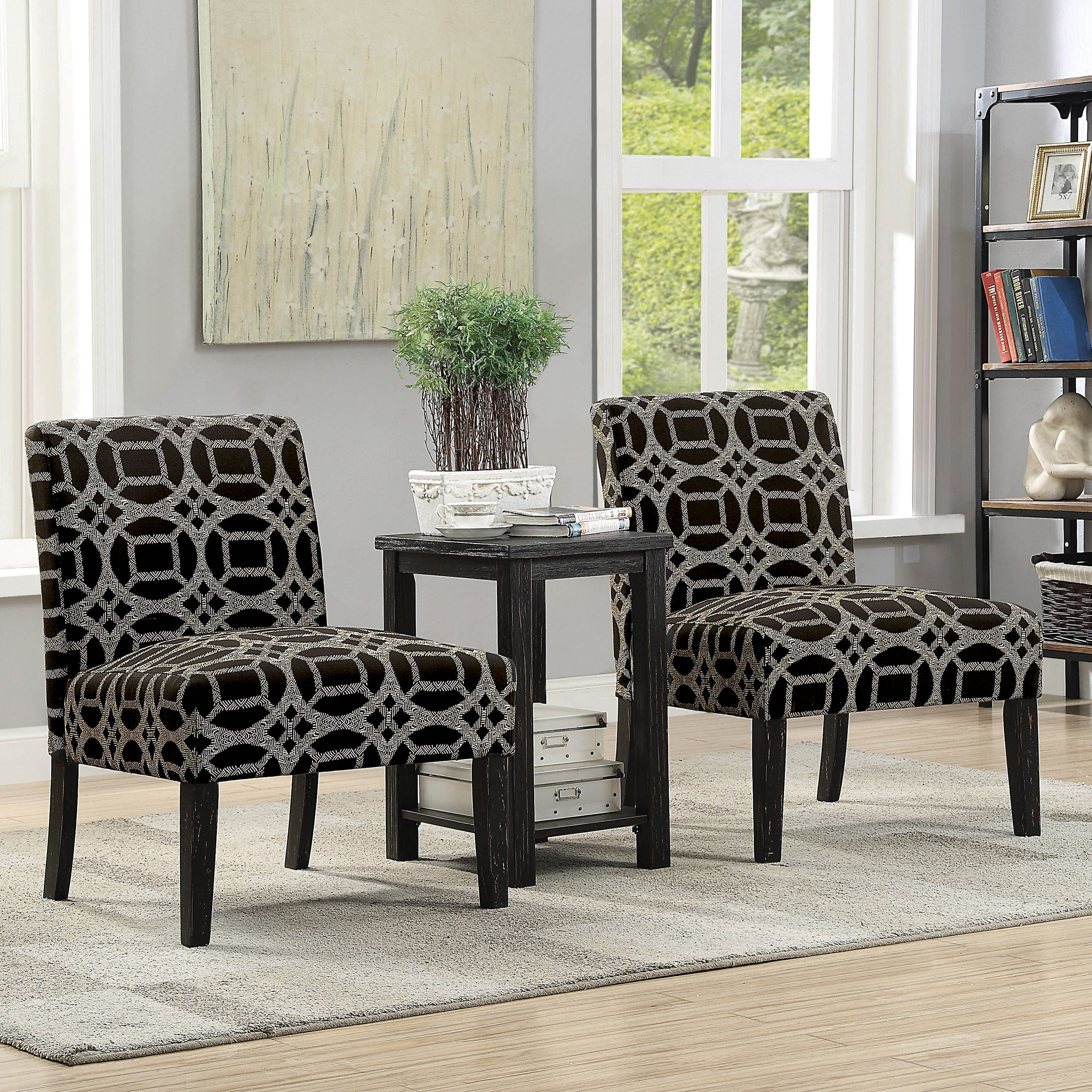 furniture america braden transitional piece accent chairs and table set chair free shipping today skinny entrance battery operated wall clock side over sofa arm black iron coffee