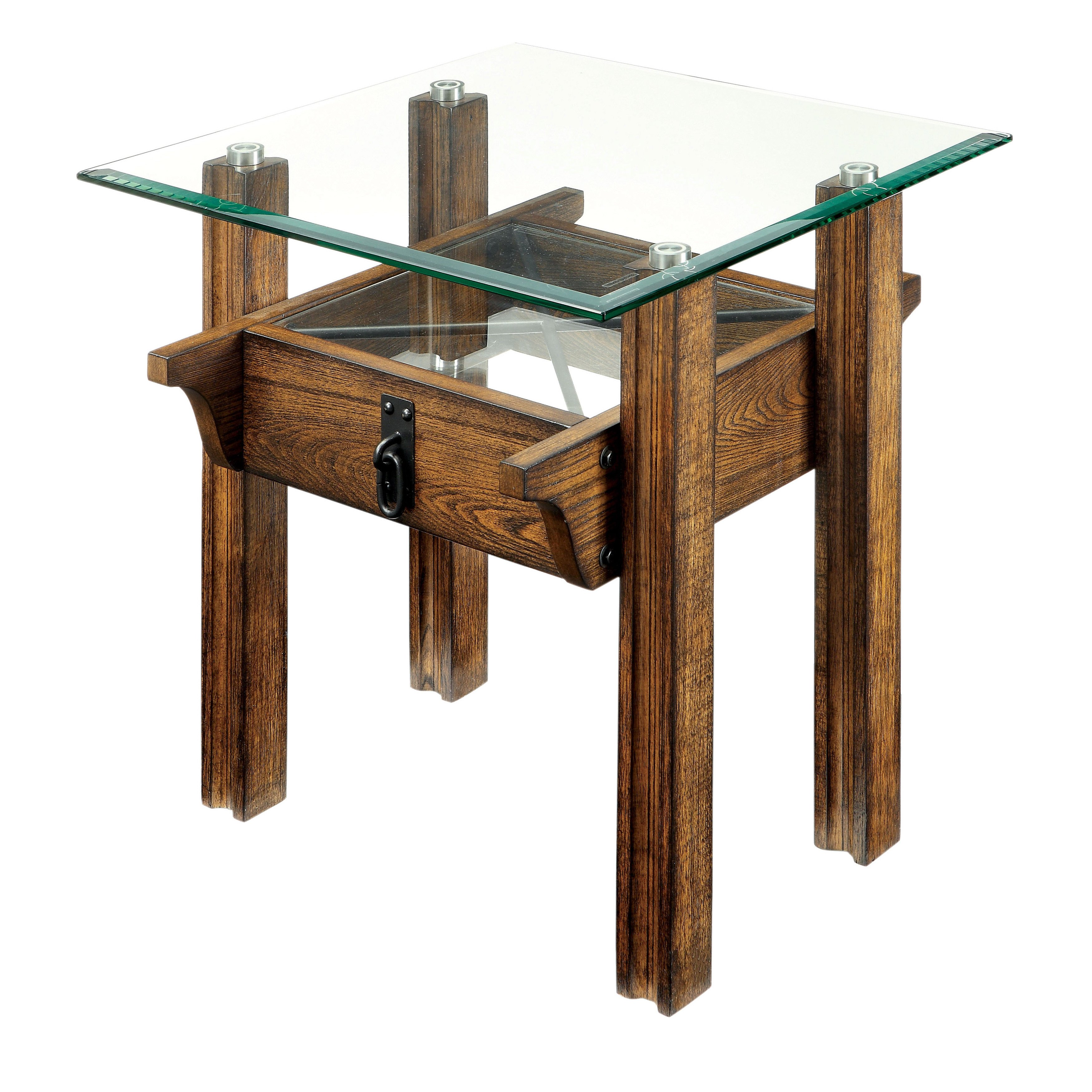 furniture america charlotte rustic piece glass top accent table set wood free shipping today astoria patio magnussen bedroom peva tablecloth counter height dining with bench