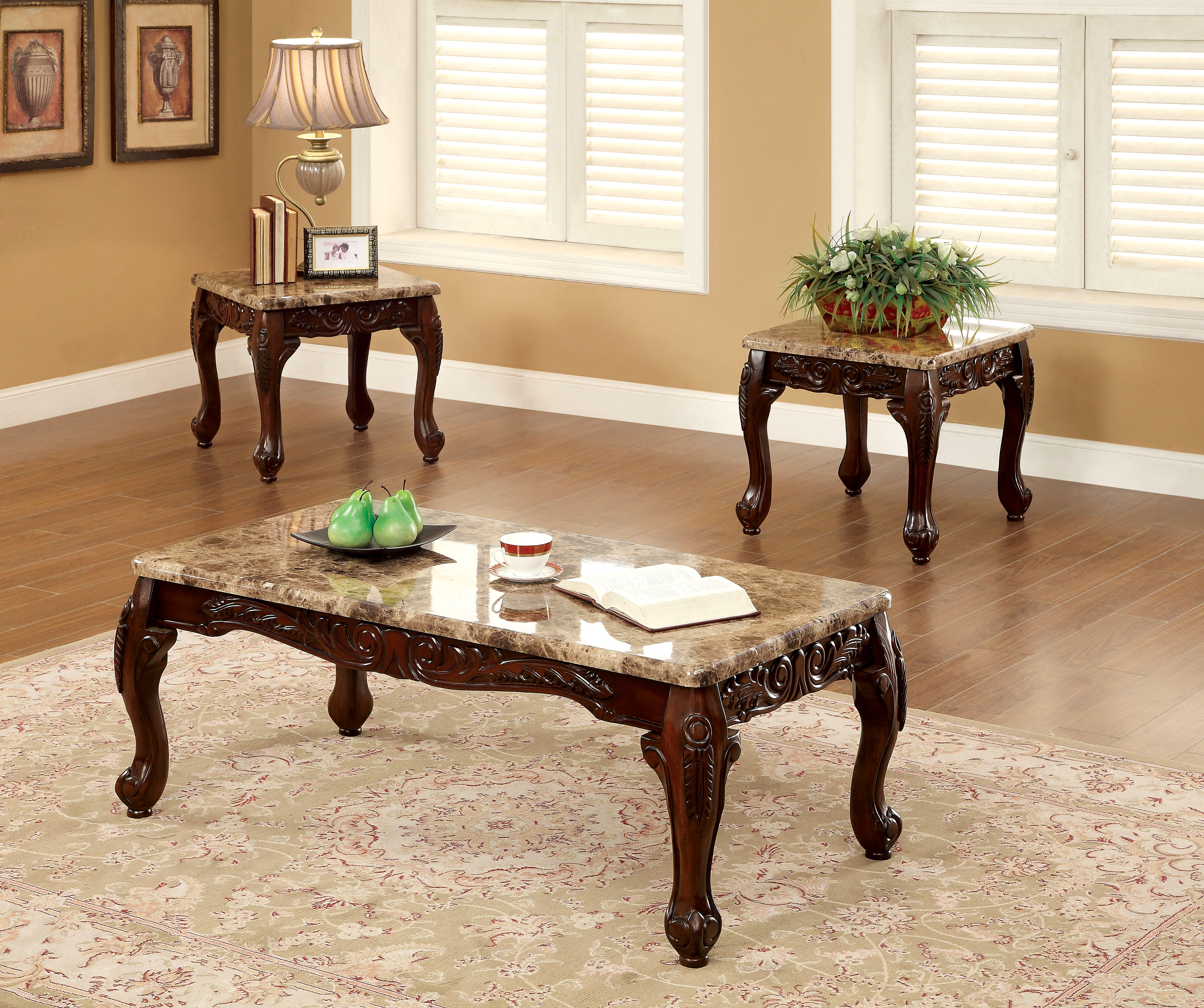 furniture america dark oak fonta piece accent table set prod living room sets brass legs white cloth tablecloths with basket drawers gold glass top coffee kroger outdoor lamp