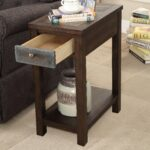furniture america kendal rustic usb charging side table accent with free shipping today black console drawers tro themed lamps universal patio wood frame mirror industrial storage 150x150