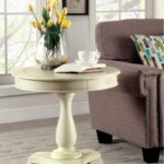 furniture america kulpmont kalea round frltndcdntad accent table behind couch runner monarch hall console dark taupe nautical mini pendant lights bath and beyond ice cream maker 150x150
