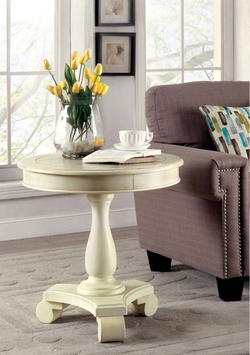 furniture america kulpmont kalea round frltndcdntad accent table behind couch runner monarch hall console dark taupe nautical mini pendant lights bath and beyond ice cream maker