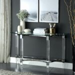 furniture america matisse glass chrome console table free metal accent sofa with shelf shipping today small living room decorating ideas party decorations battery operated lights 150x150