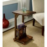 furniture america slimming antique oak wood magazine rack end table accent with free shipping today modern outdoor small chest for living room ceiling curtain rod high back chair 150x150