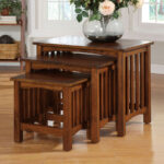 furniture america valencia piece antique oak birch accent table set embroidered tablecloth vegas thin nightstand elm wood coffee tall skinny entryway stained glass floor lamp 150x150