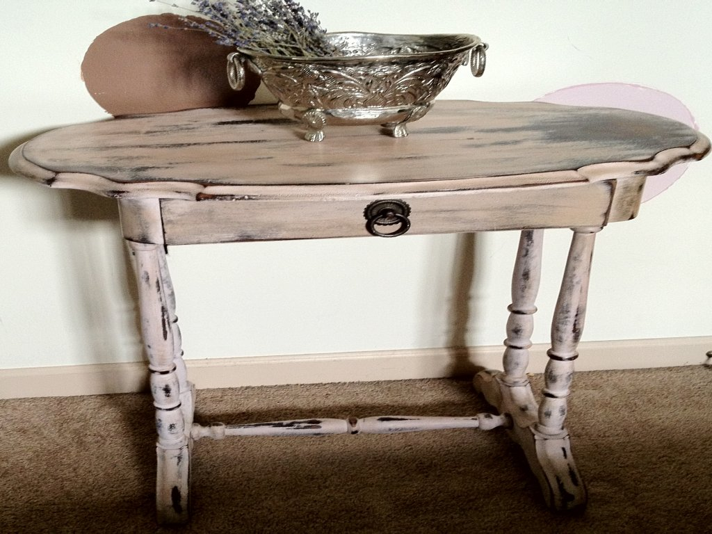 furniture antique accent table beautiful distressed vintage home bronze white and wood side tiffany buffet lamps tall grey turned legs asian patio covers canadian tire wooden