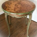 furniture antique accent table copper patina stained wood end and with super wonderful farmhouse long designs mirrored bedside small teak side contemporary design mid century 150x150