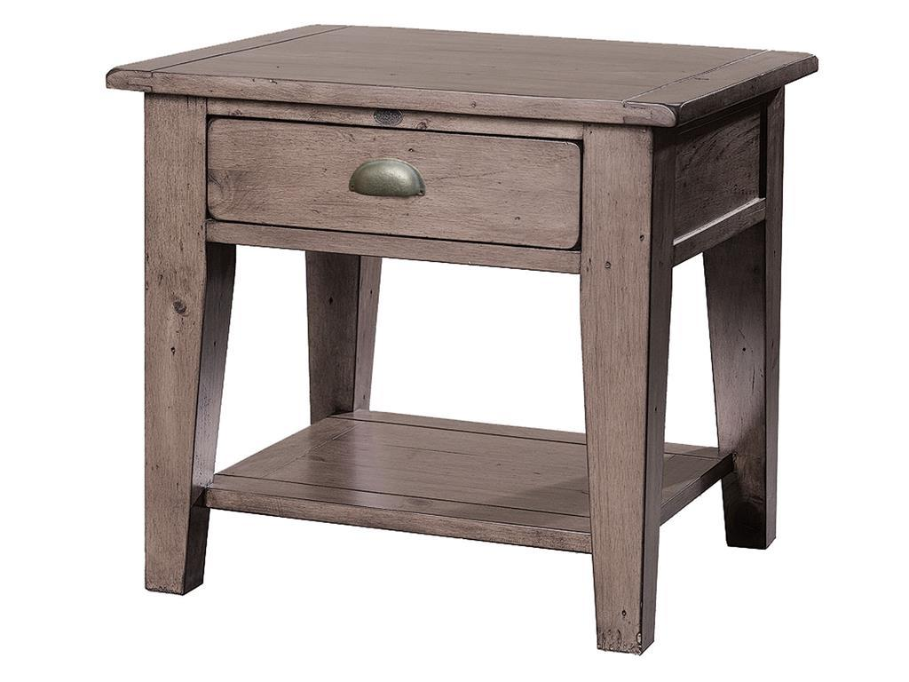 furniture beauty home with reclaimed wood side table natural end tables distressed off white round coffee wrought iron accent barnwood large block pottery barn dining room chair