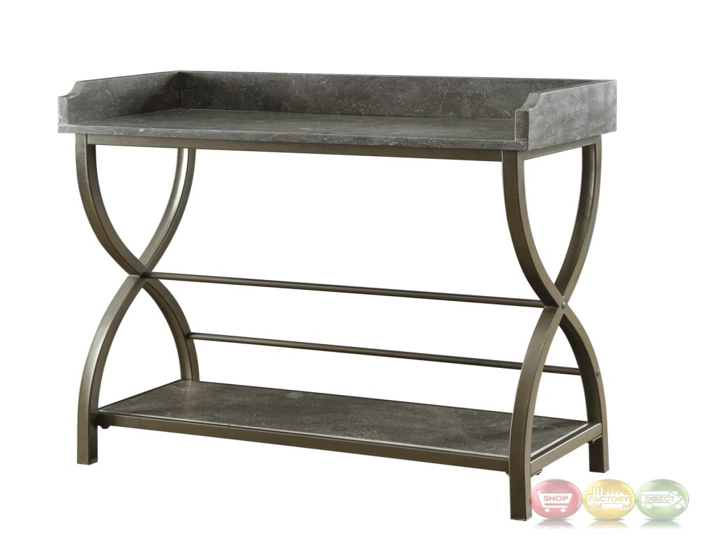 furniture best bronze accent table small inspirational bluestone with metal base tables pottery barn glass console rustic concrete kitchen chairs oak wine cabinet formal living