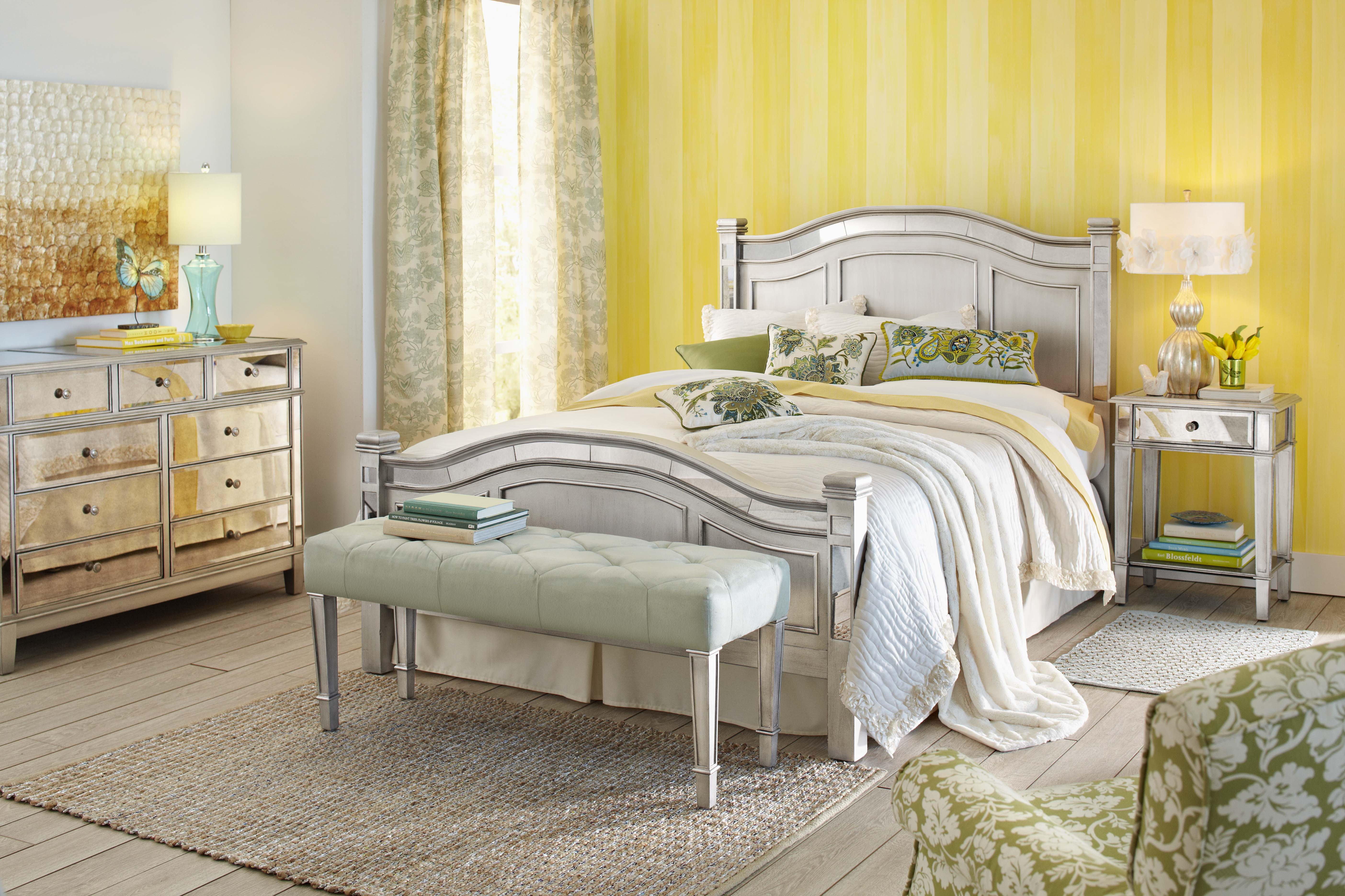 furniture brilliant pier one mirrored for any room chic with bedroom bench and table lamp antique nightstand hayworth dresser media console mirror target bath beyond amazo accent