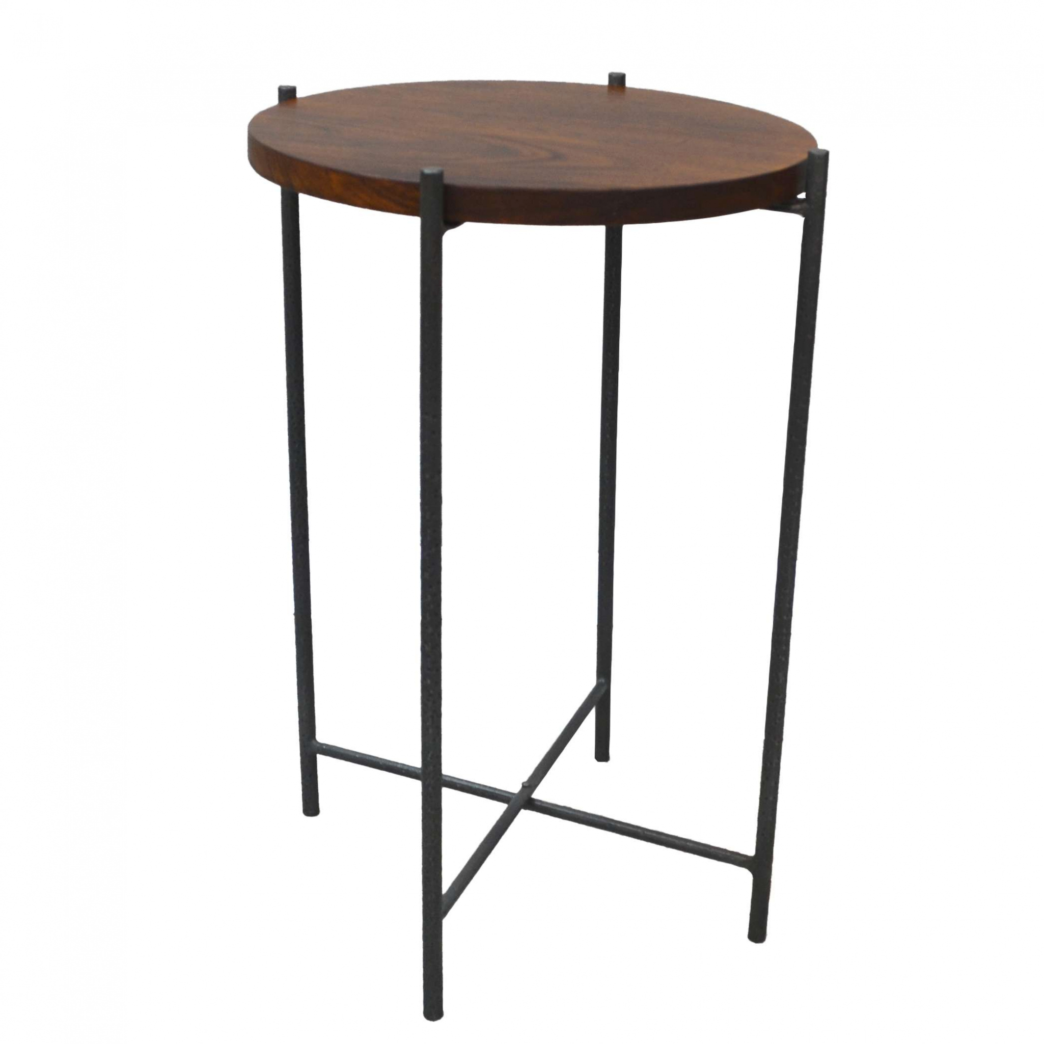 furniture carolina chair table chaz chestnut round accent with metal regard and wood high end pool bunnings iron umbrella stand legs for pedestal bronze spray paint reclaimed