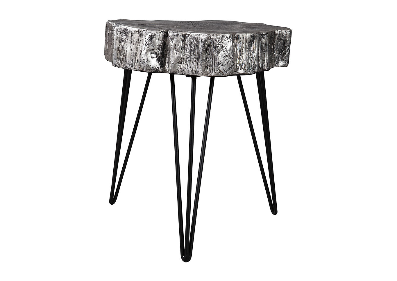 furniture chicago llc dellman antique silver metal accent table finish signature design ashley patio drum wine stoppers target oak stacking tables home interior accessories ikea