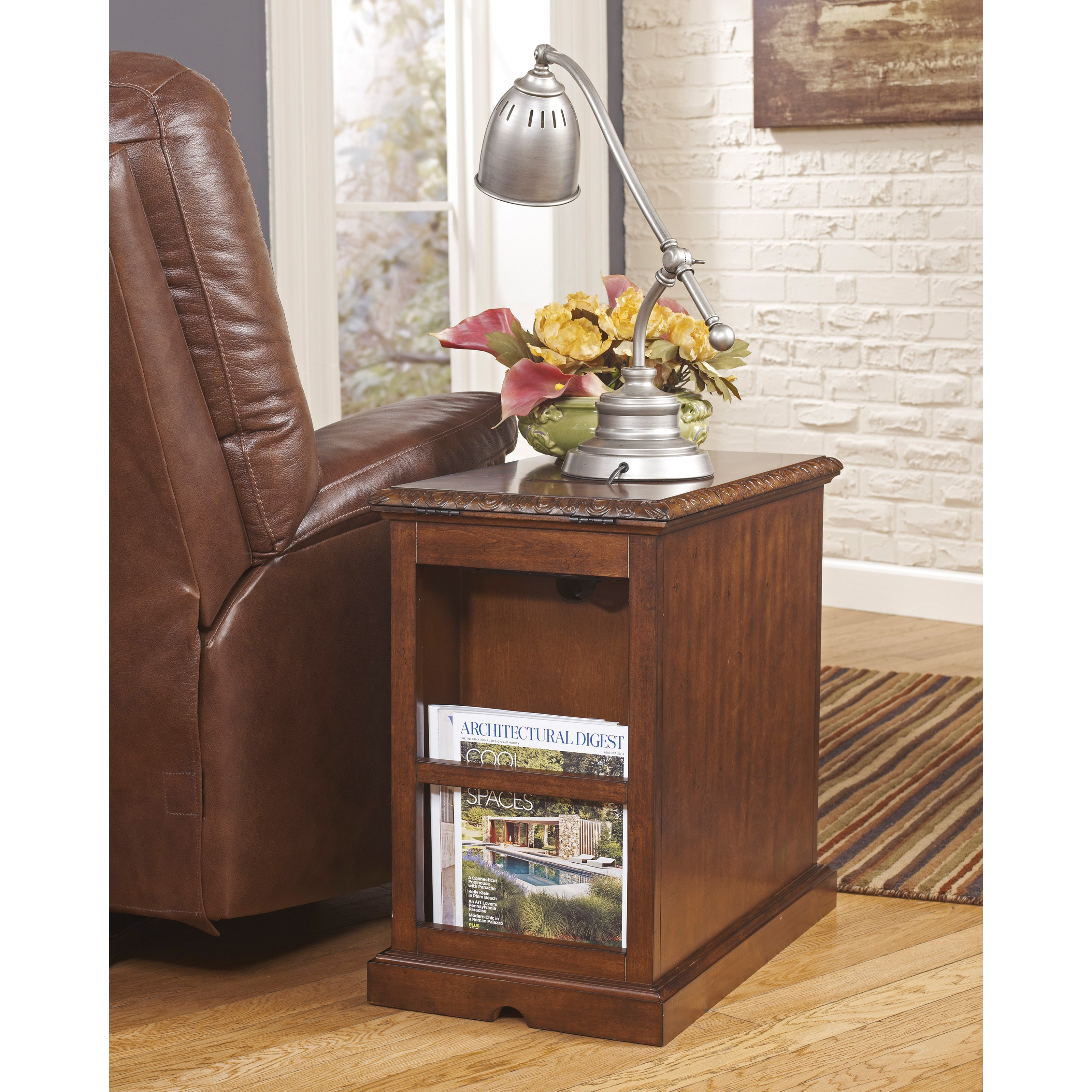 furniture complete your living room with new chairside end table tables storage basket drawers shelves skinny wedge accent baskets tall dark wood nest cream console bathroom