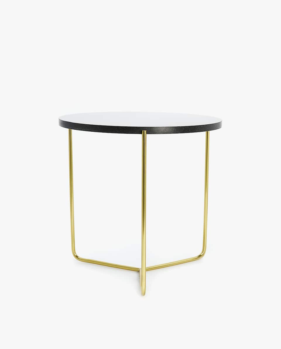 furniture decor zara home america gold wire accent table black marble contemporary glass lamps condo toronto wood kitchen sets threshold bar bedside tables with usb ports chairs