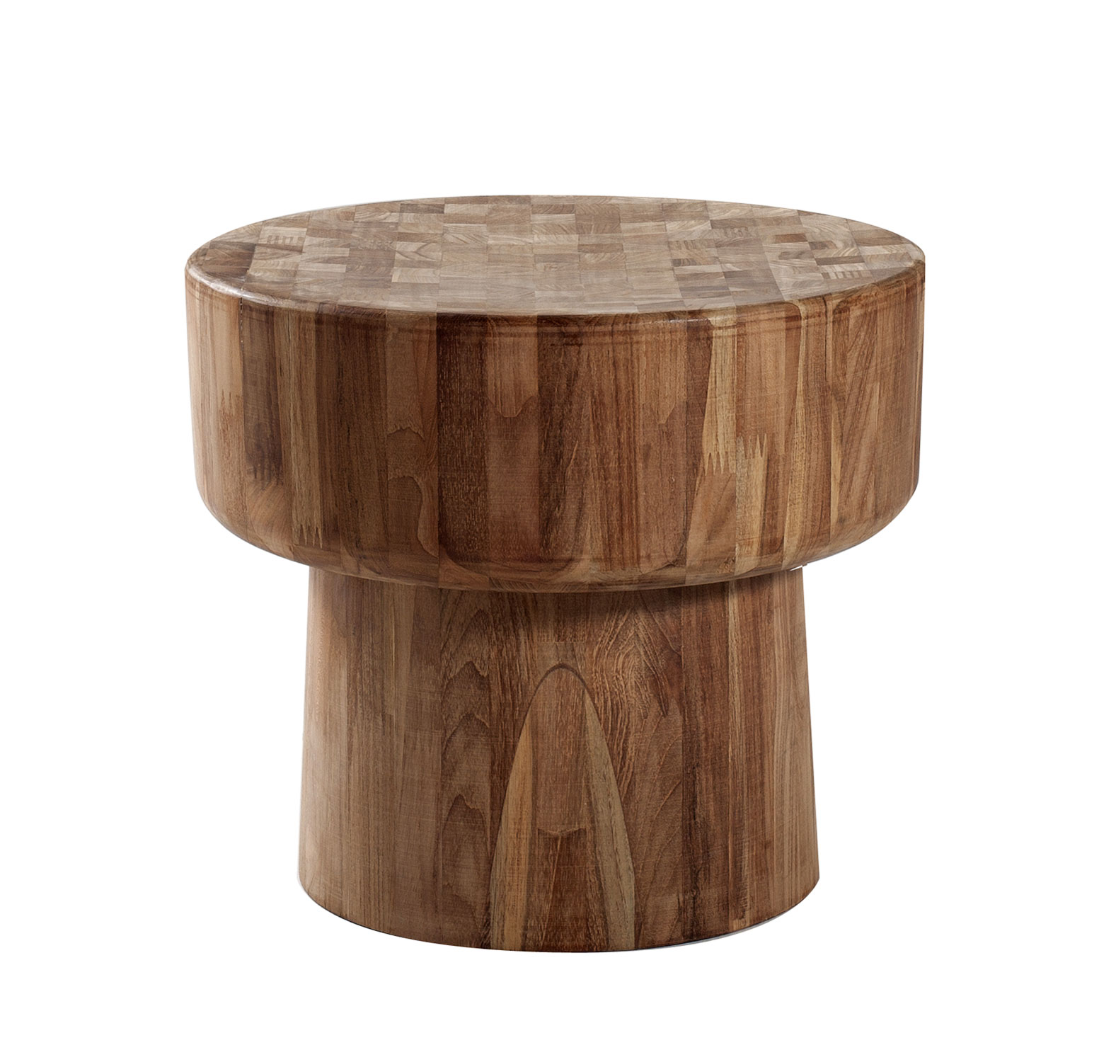 furniture elegant teak end table sets traditional solid wood narrow set round side for living room bedroom wooden accent decorative interior design veneer laminate finished