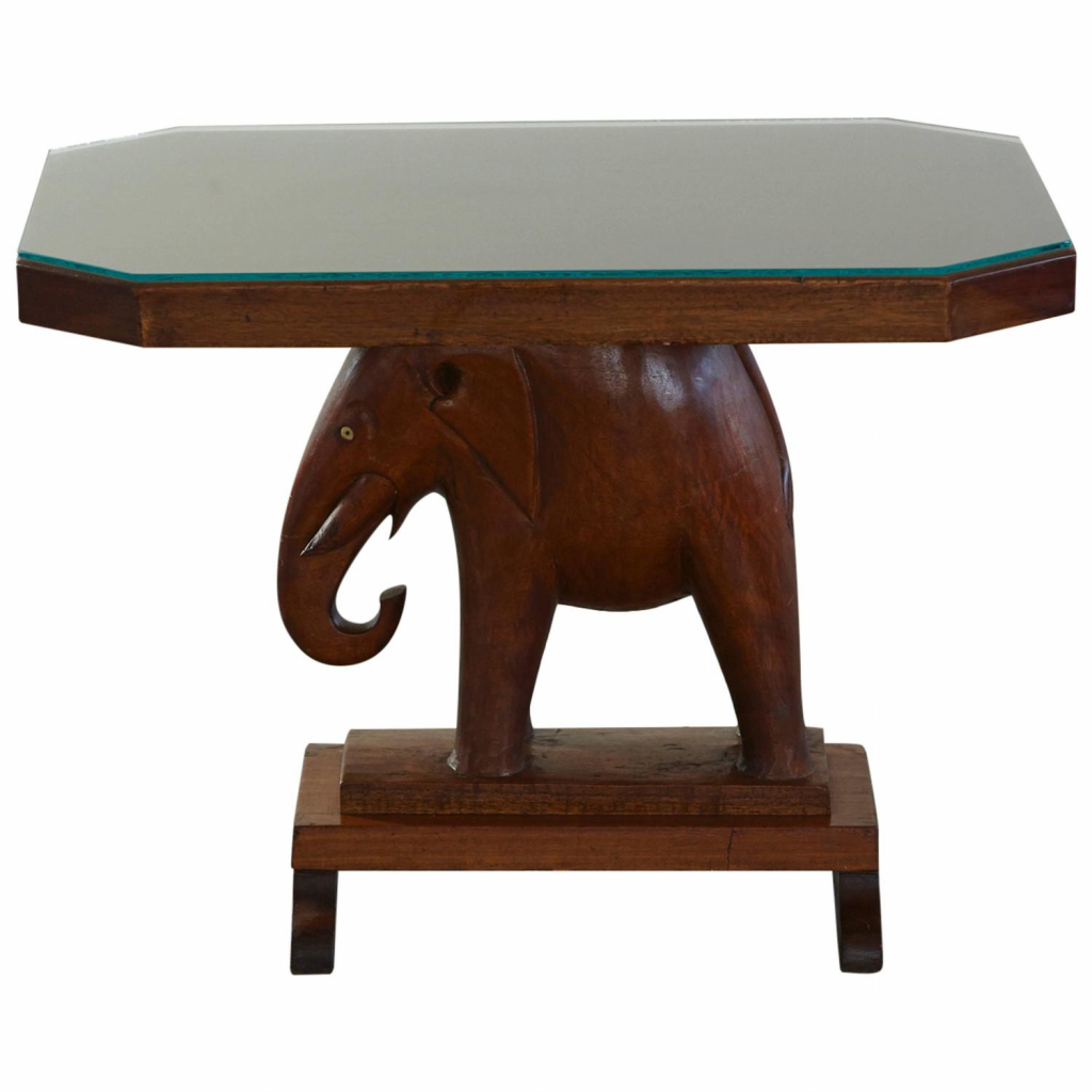 furniture elephant table luxury kristalia lovely rare mahogany with carved base roosevelt history accent green tiffany lamp shade gold setting wicker storage trunk matching
