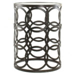 furniture endearing modern living room furnishing decoration using decorative round black metal and glass accent tables entrancing ideas bbq side table wine rack umbrella small 150x150