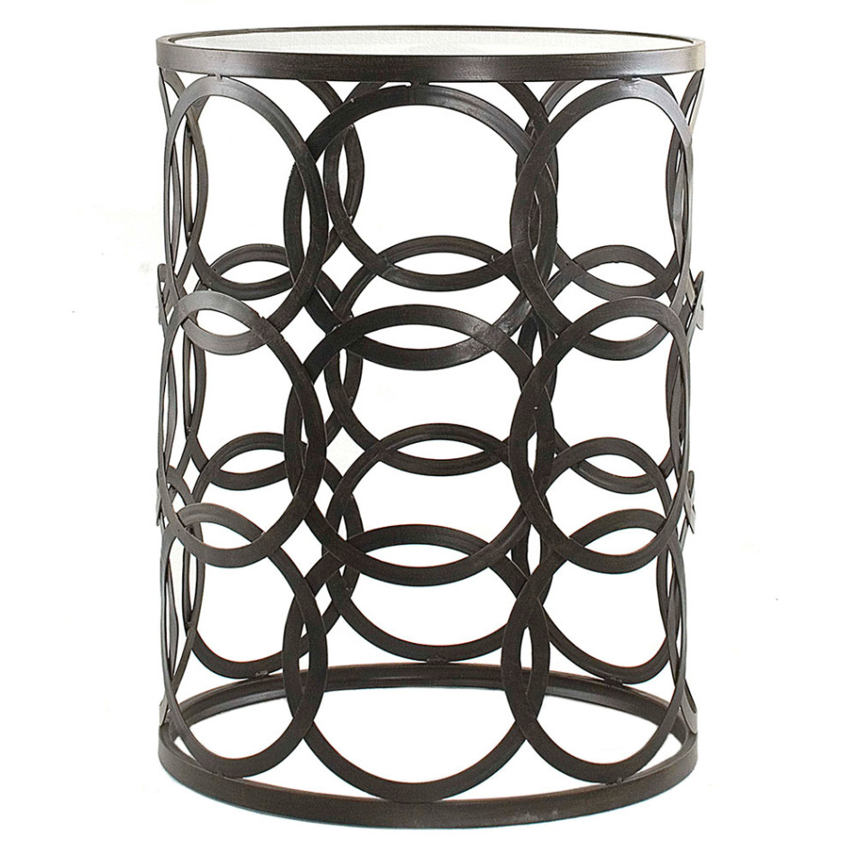 furniture endearing modern living room furnishing decoration using decorative round black metal and glass accent tables entrancing ideas bbq side table wine rack umbrella small