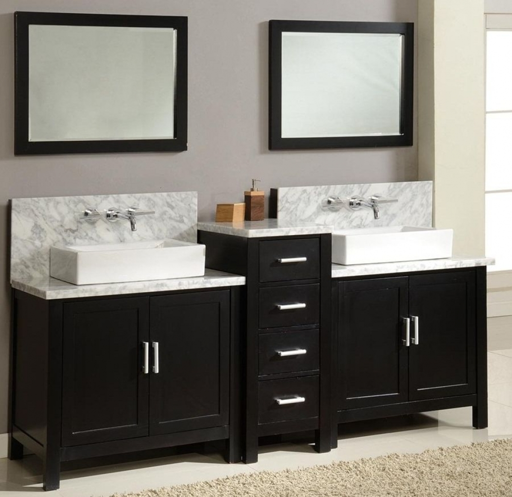 furniture exquisite elegant design and color vanities for black square frame mirrors over double sink with drawers door lanza bathroom vanity powder room mirror lights ceramic