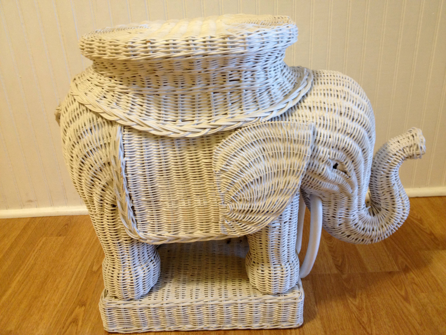 furniture exquisite furnishing for home interior decoration using extraordinary decorative round white wicker elephant table including solid maple wood flooring accent oak trestle