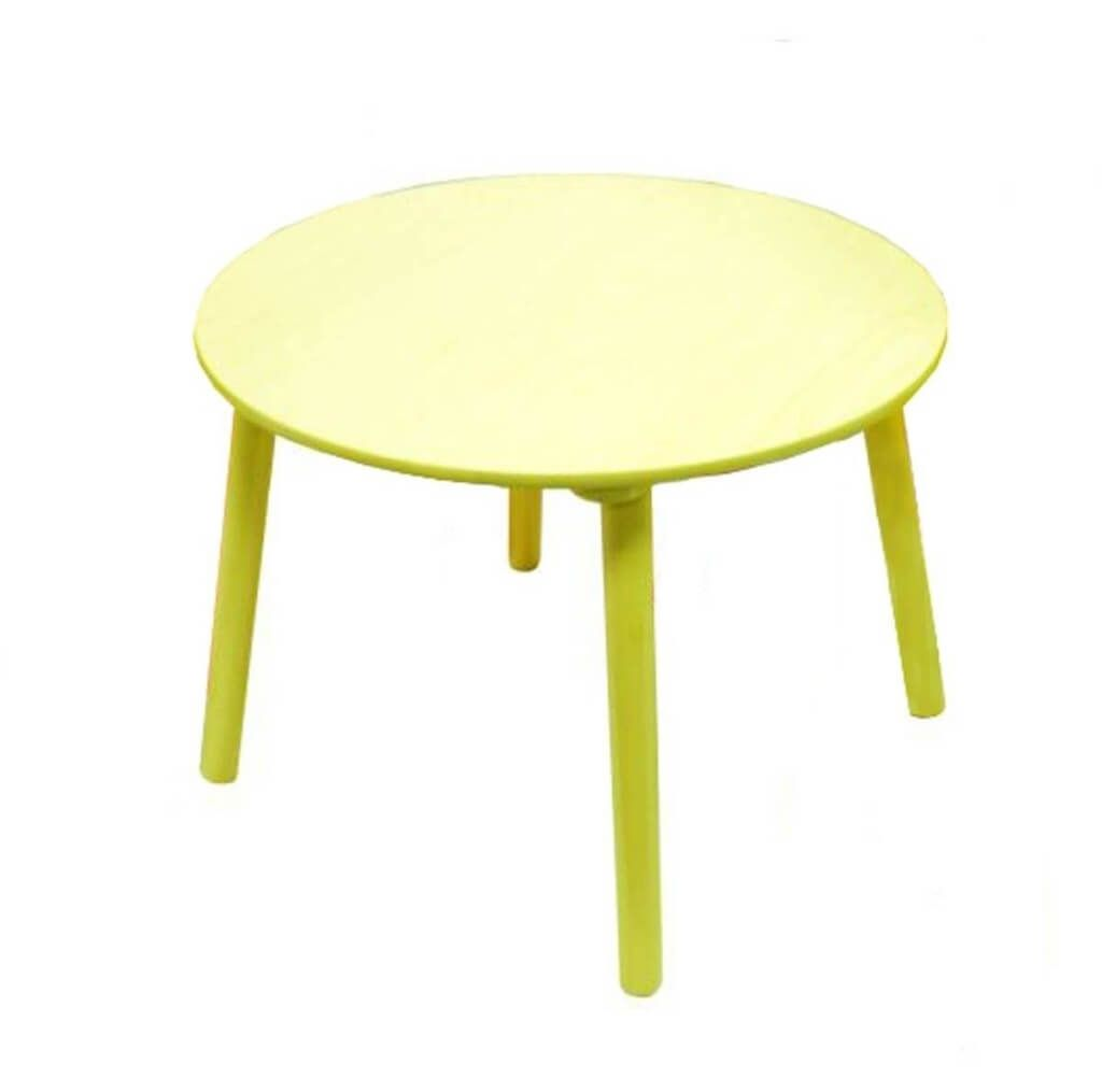furniture fascinating small kids round table and chairs set interesting lime green for good bedroom accent ideas wood featuring decorative sunbrella outdoor patio antique marble