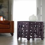 furniture fretwork accent table new elephant console luxury hooker melange hexagonal with hexagon target small decorative end tables woodworking plans iron barn style dining 150x150