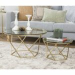 furniture geometric glass nesting coffee tables bxel accent living room gold kitchen dining modern black sheer curtains folding hairpin legs bbq side table drum stool cover 150x150
