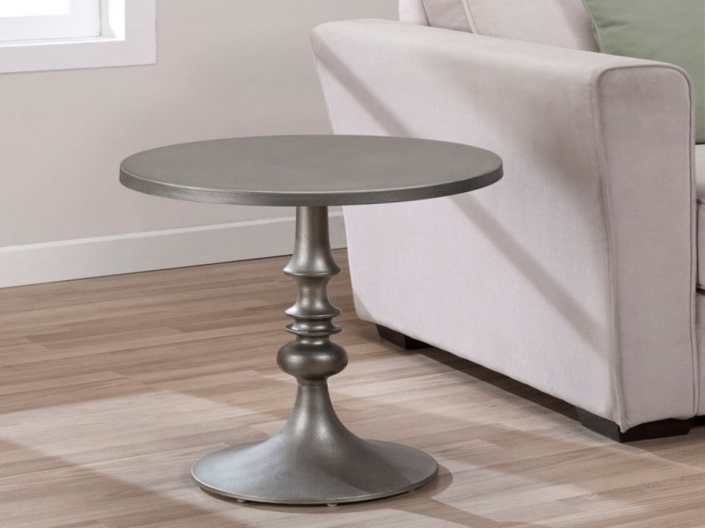 furniture grey accent table unique bailey steel free shipping today dark gray metal drum end wood bedside solid round side ceramic hampton bay wicker patio set linens brown entry