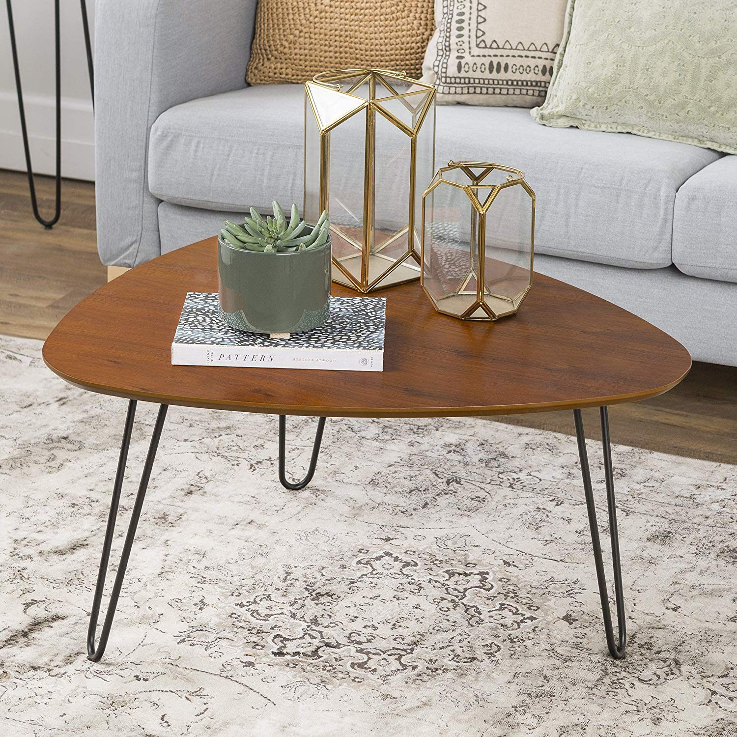 furniture hairpin leg wood coffee table walnut azf room essentials accent kitchen dining small ideas tablecloth for square house interior rosette porch side with lamp attached