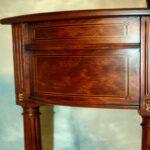 furniture half round accent table best demilune end burl ash mahogany bronze drum coffee set nesting tables large ott tray decorative covers laminate door trim gold glass retro 150x150