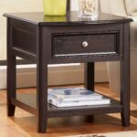 furniture high quality and elegant end tables with drawers coffee table skinny bedside target tall storage slim side craftsman style cherry wood accent white couch covers small 150x150