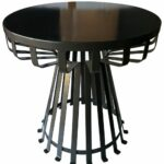 furniture interesting aqua blue round metal side table design contemporary black ideas accordion tables for bedroom outdoor target gooseneck lamp small square pottery barn 150x150