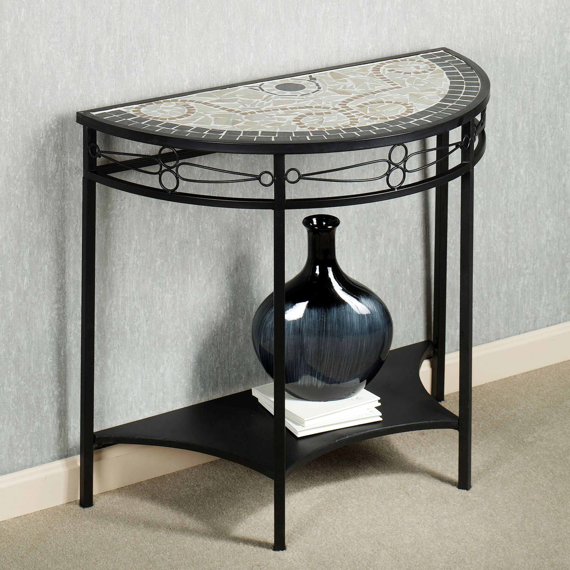 furniture mesmerizing half moon accent table with elegant looks magnificent semi circle couch and black color shelf entryway tables narrow demilune console sofa end contemporary
