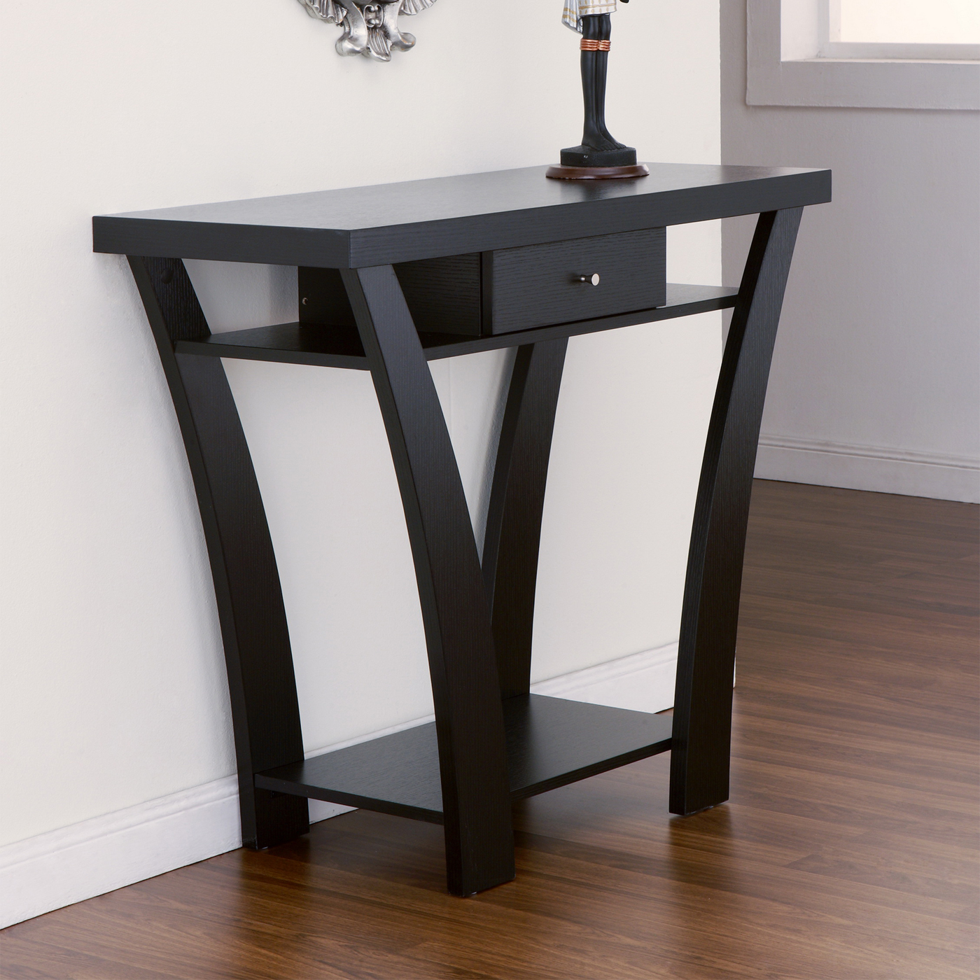 furniture mesmerizing half moon accent table with elegant looks sophisticated brown laminate flooring and astounding white wall antique tables console slim entryway end long