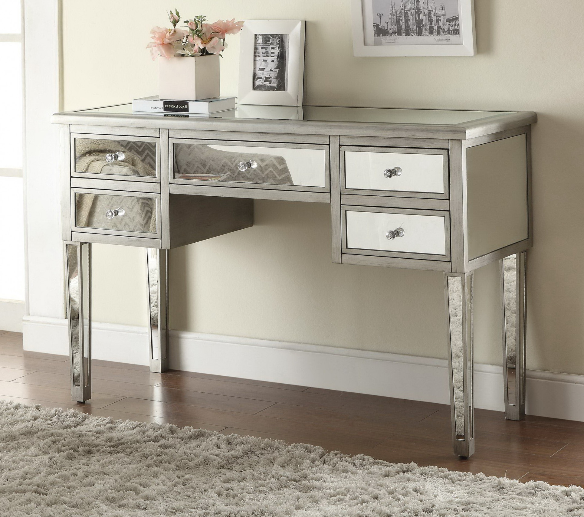 furniture mesmerizing living room and bedroom with mirrored end bedside drawers table side white tables glass accent drawer gourd lamp interior barn door ideas outdoor cherry