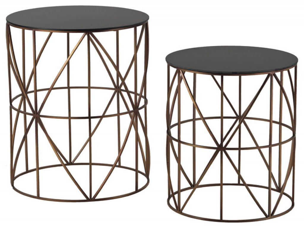 furniture metal drum accent table inspirational coast elegant set two gold finish round tables real wood coffee outdoor dining clearance umbrella base pretty storage boxes ikea