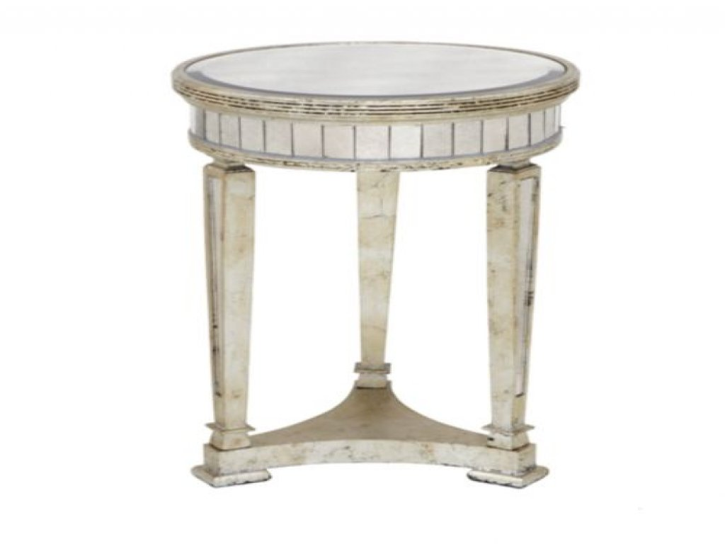 furniture mirrored accent table beautiful faceted mirror side new living room end threshold modern dressers toronto cherry wood dining barn door coffee round folding and chairs