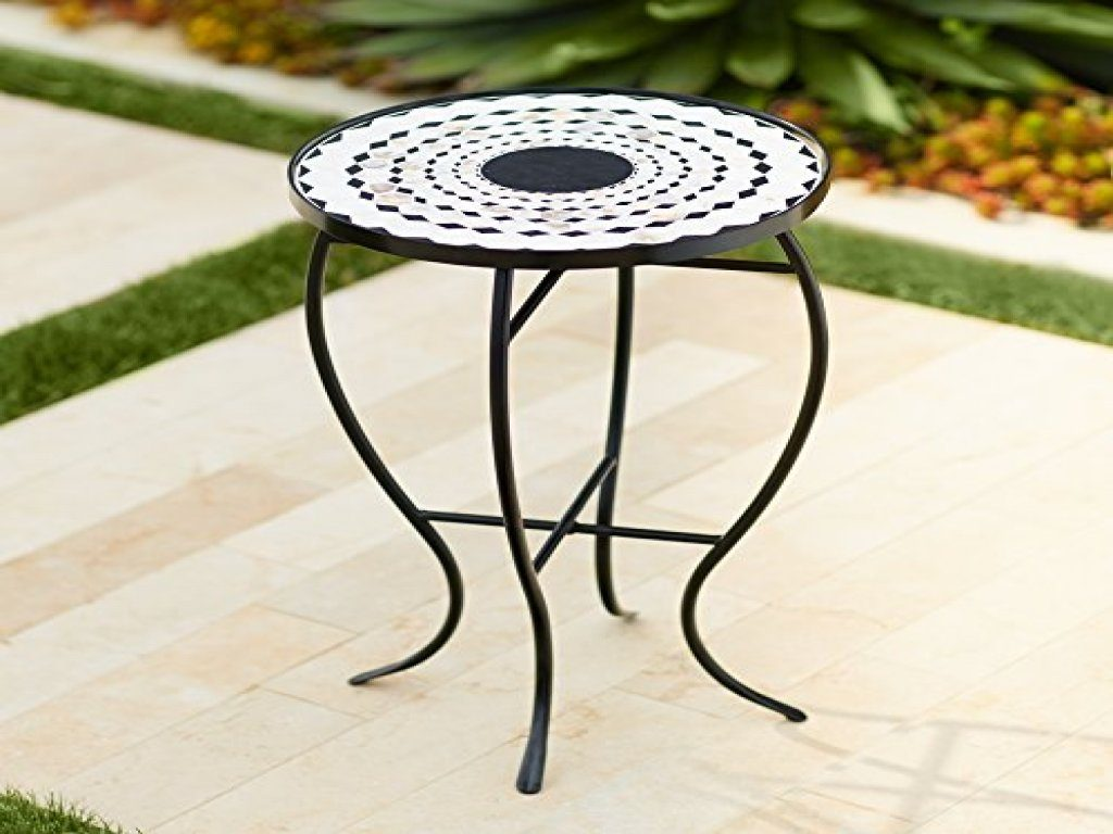 furniture mosaic accent table outdoor fresh offer black and white west elm morten lamp headboards nautical themed floor lamps tall end vintage metal small corner winsome