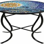 furniture mosaic accent table outdoor new save ocean black iron outside grills white ginger jar lamps pottery barn marble two door cabinet tall end winsome instructions wicker 150x150