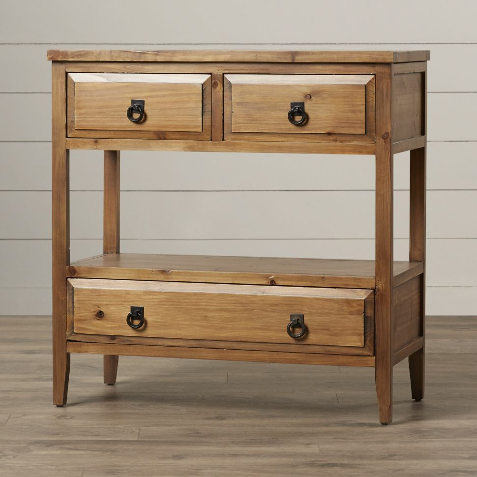 furniture oak corner accent table solid wood tables small amish light with drawer mission console finish fir construction drawers nightstand modern low dresser gold mirrored white