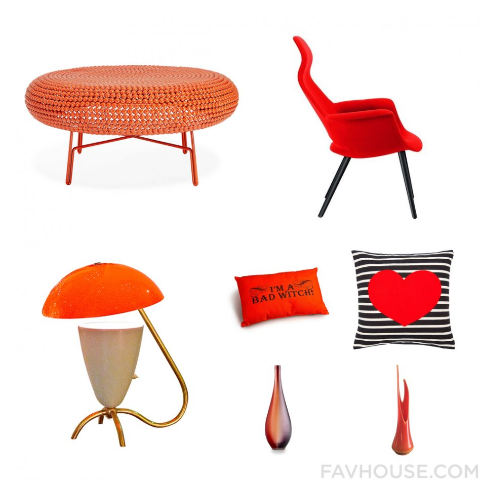 furniture orange lacquer cube side tables accent rattan red outdoor table burnt mid century replica diy dining nate berkus glass agate cabinets bunnings dark wood trestle iconic