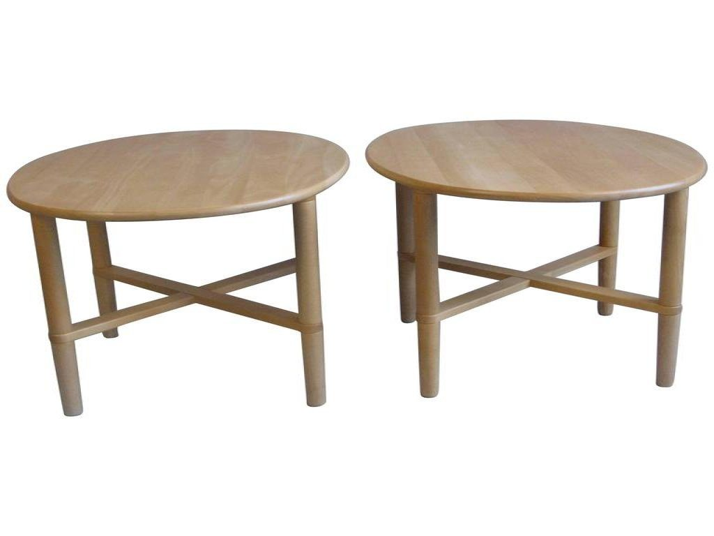 furniture oval accent table beautiful pair handmade danish end tables haslev for small retro legs narrow living rectangular square with storage kitchen sideboard makeup vanity