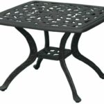 furniture patio accent table luxury darlee series cast aluminum end square small tables affordable sets kitchen counter dale tiffany hummingbird lamp black entry barn door 150x150
