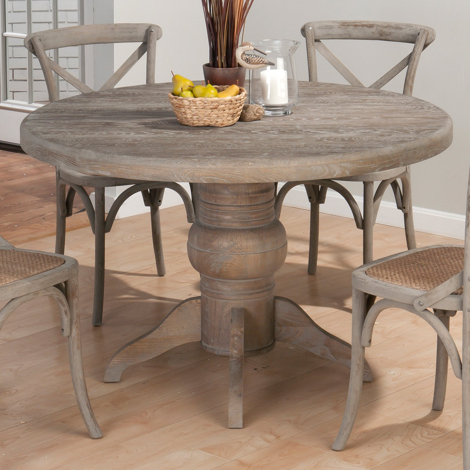 furniture pedestal dining room table inspirations round distressed kitchen white best gallery tables solid wood set for oval circle and chairs with top black wooden accent