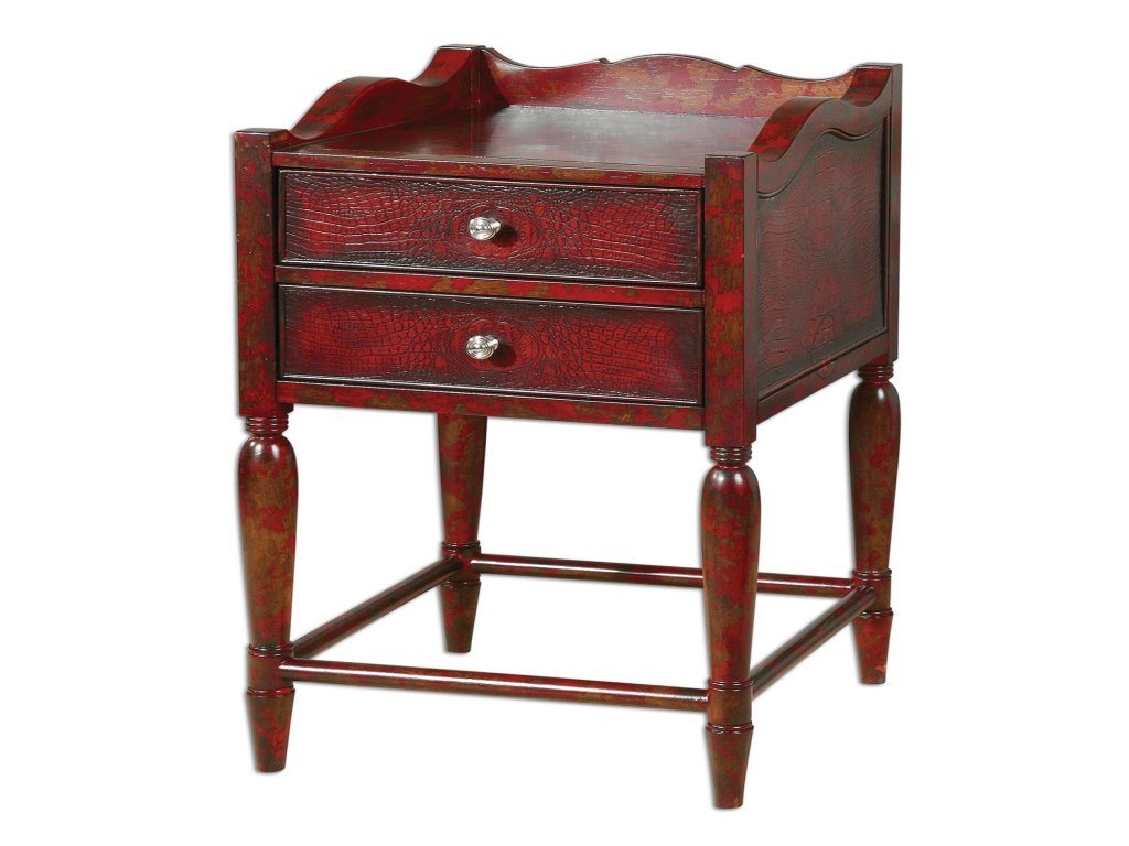 furniture red accent table unique uttermost nandita antiqued dice large outdoor patio umbrella pottery barn lamps dining centerpiece decor room and chairs teak sydney ethan allen