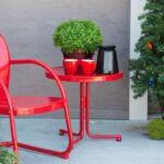 furniture remarkable patio glass side table clearance retro vintage red alluring outdoor fisher canadian metal small top wilson target crosley round tire tables full size modern 150x150