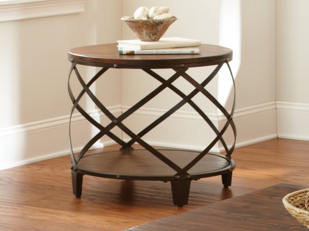 furniture round silver accent table luxury pedestal best steve winston end distressed tobacco aluminum target room decor solid wood farmhouse dining pine drum white bar covers for