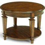 furniture round wood accent table new flexsteel oakbrook traditional end with metal tables tablecloth for ikea cement carpenter vise dining and chairs clearance glass design 150x150