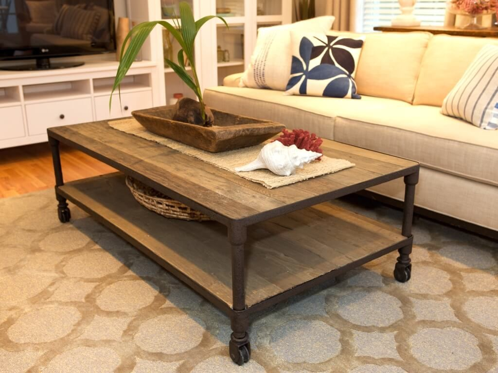 furniture rustic living room coffee table design with roller accent tables for rooms lamps tall skinny lucite and glass windmill clock contemporary occasional wood pier imports