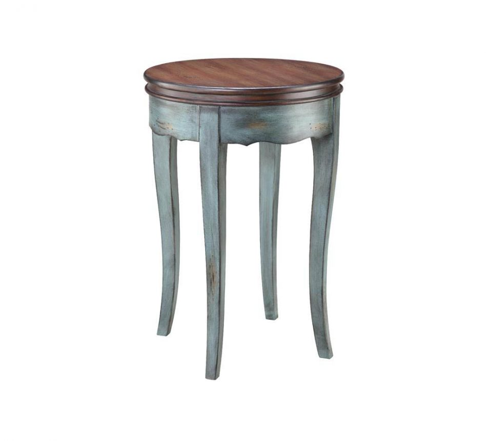 furniture sauder square berry blue accent table bombay ceramic tall storage cabinet with doors sofa drawers cedar coffee plans wood pedestal rose gold tiffany pottery barn black